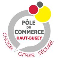 logo pole du commerce haut bugey